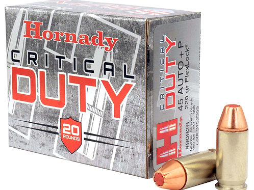 HORNADY CRT DUTY 45ACP + P 200 GR