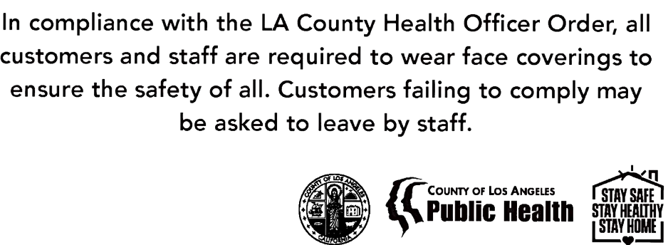 COUNTY OF LOS ANGELES PUBLIC HEALTH DEPARTMENT