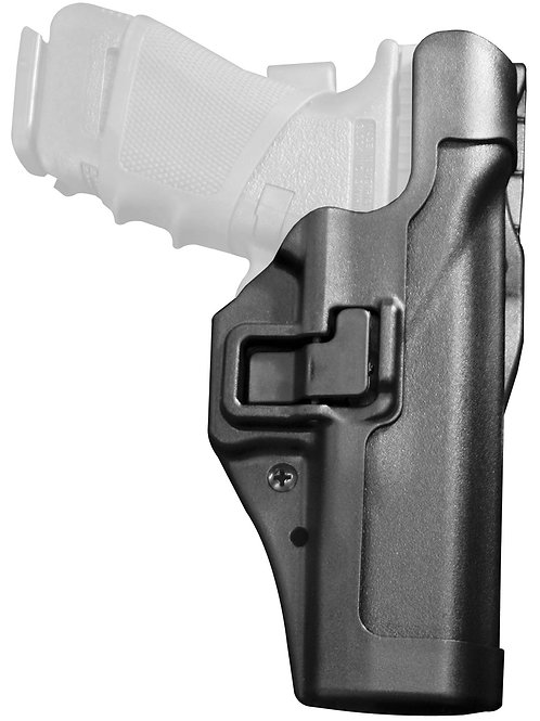BLACKHAWK Level 2 Duty SERPA Belt Holster, Fits Glock 17/19/22/23/31/32,RH