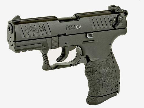 """WAL P22 22LR 3.4"""" BLK 1-10RD CA"""