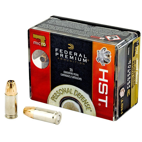 FED PRM HST 9MM 150GR JHP 20/200