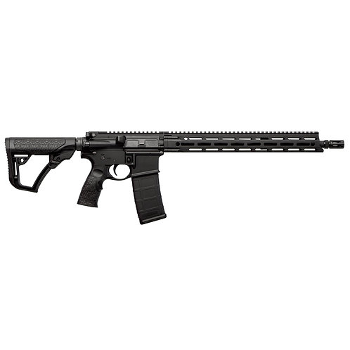"DANIEL DEFENSE, DDM4V7, 223 REM/556NATO, 16"" BLACK FINIS"