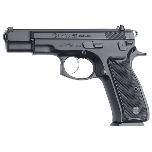 CZ, 75 BD 9MM FULL SIZE, 10 RD, DECOCKER
