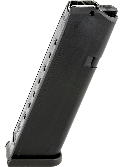 GLOCK, OEM MAGAZINE, 9MM, 10RD, FITS GLOCK 17/34, CARDBOARD STYLE PACKAGING