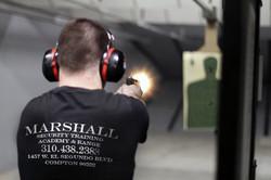 Shooting at the range