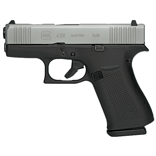 GLOCK 43X SUB COMPACT, 9MM 10RD