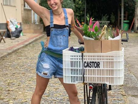 Mulher cria sistema de entrega com bicicletas destinado a mulheres e transexuais