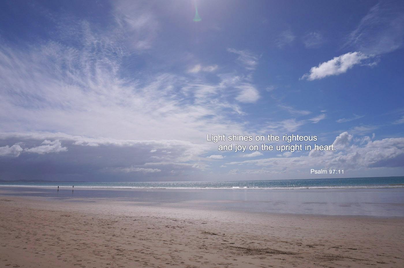 Psalm 97 11