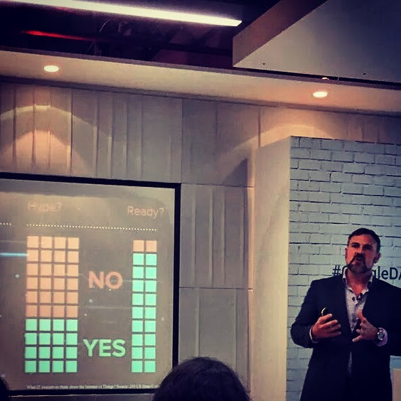 Guest speaking at Google DAN