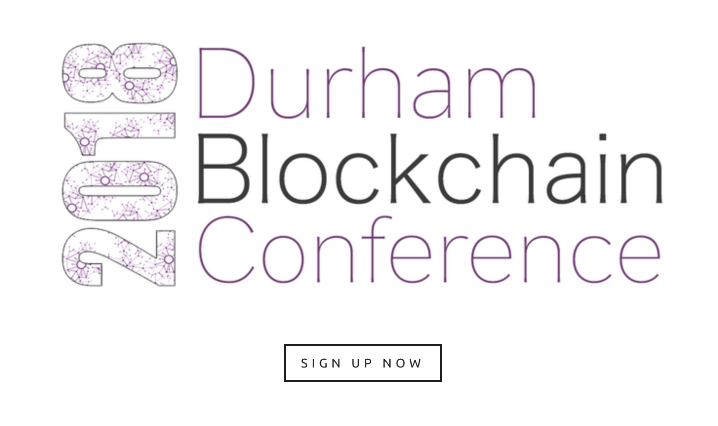 Durham Blockchain Conference 2018