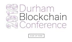 Durham Blockchain Conference 2018