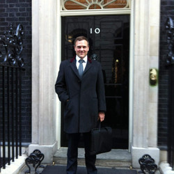 Standing outside No 10