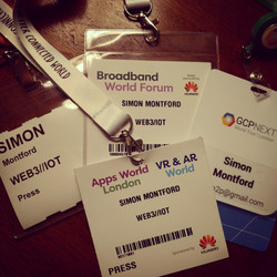 Conference Press Passes