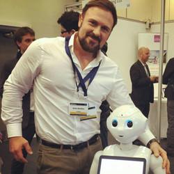 Simon Montford & Pepper Robot