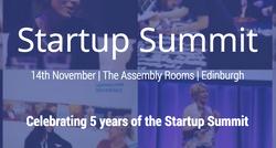 Startup Summit Edinburgh 2016
