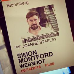 Simon Montford Bloomberg Event