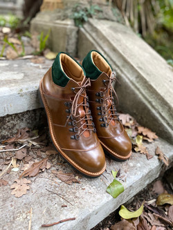 Horween shell cordovan hiking boots 3