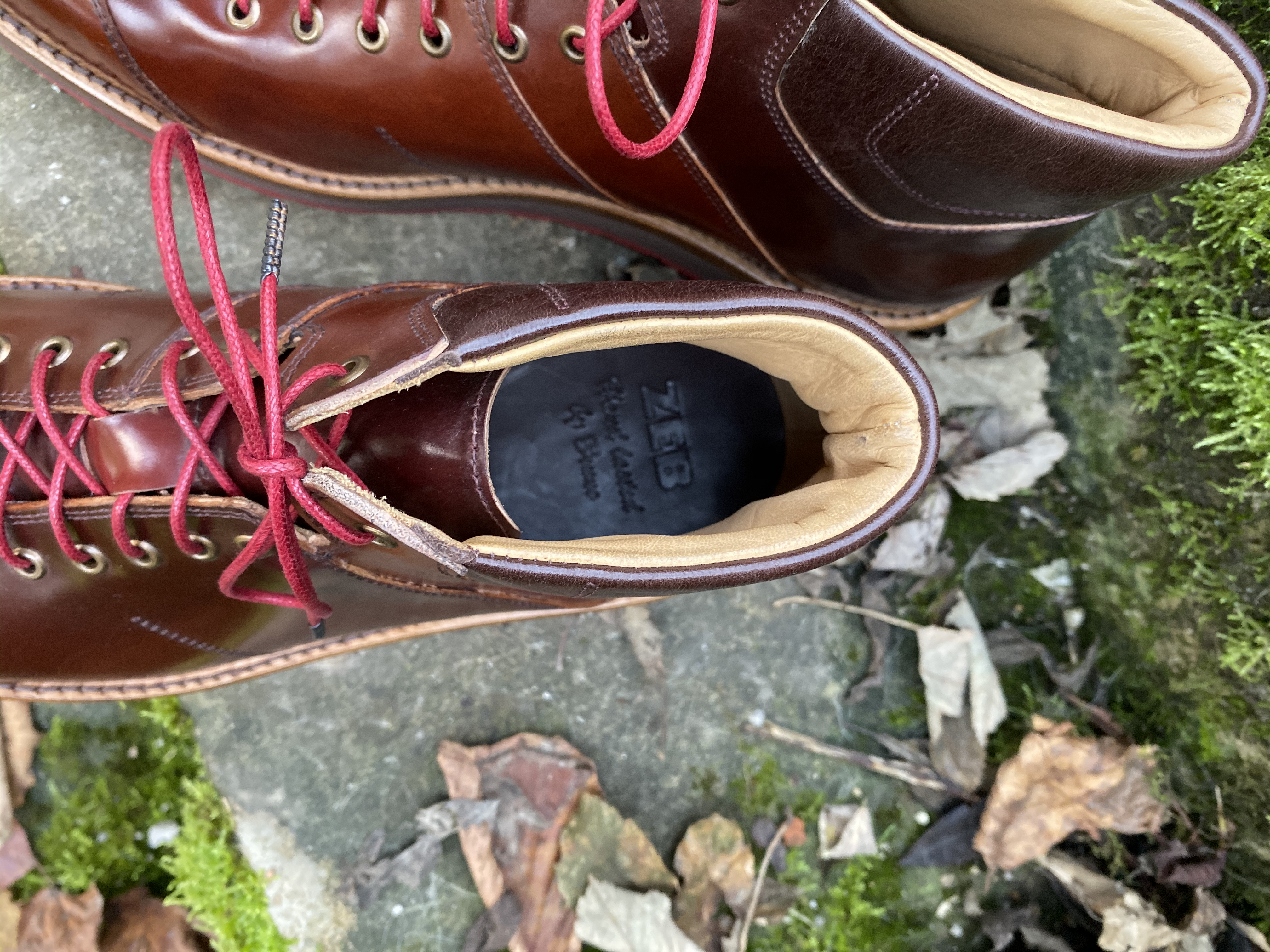 Horween shell cordovan sneakers 7