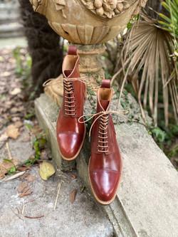 Captoe Horween shell cordovan boots col.4 13