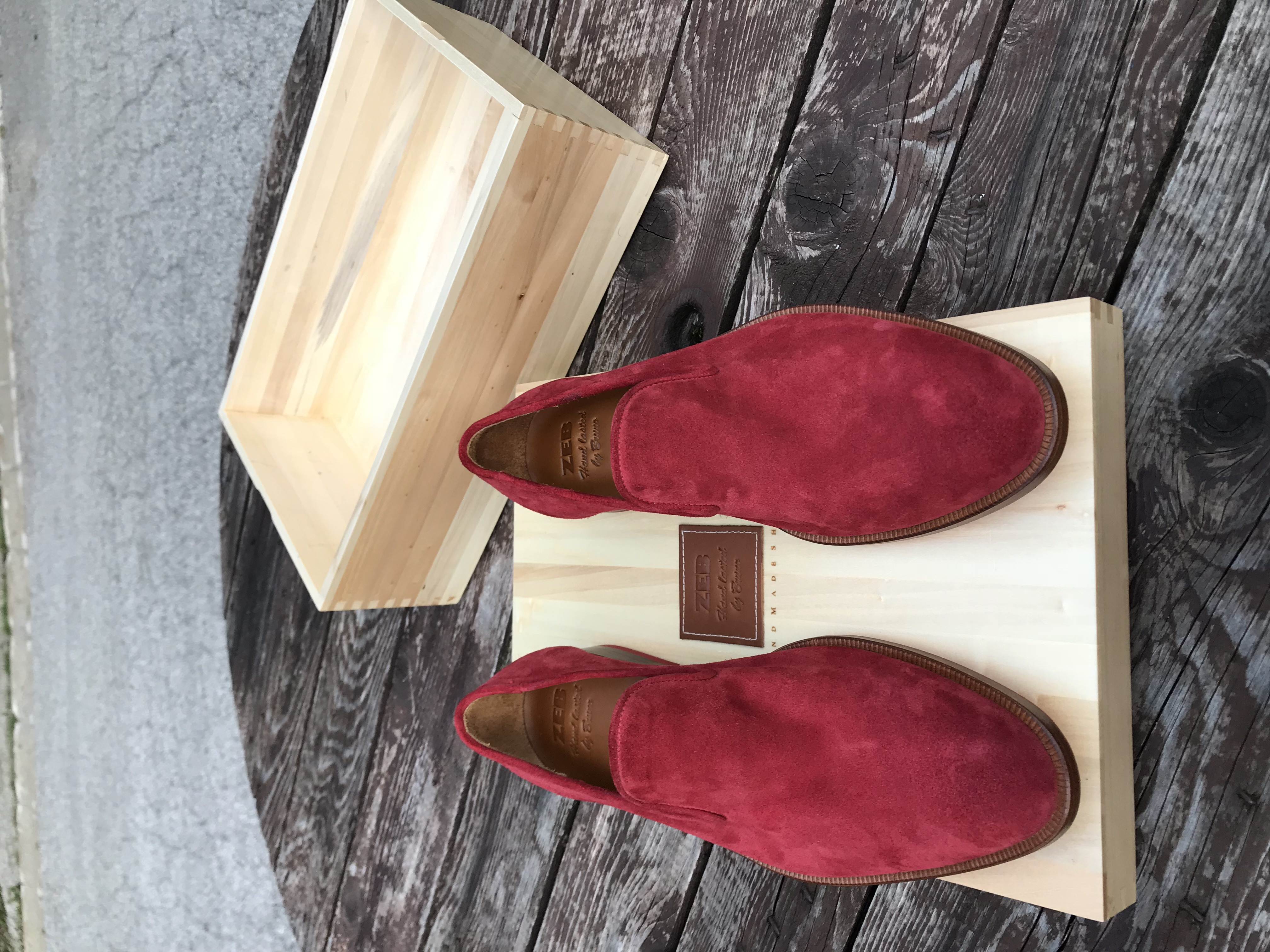 Leather-Shoes-Slippers-Suede-Red-Gal11