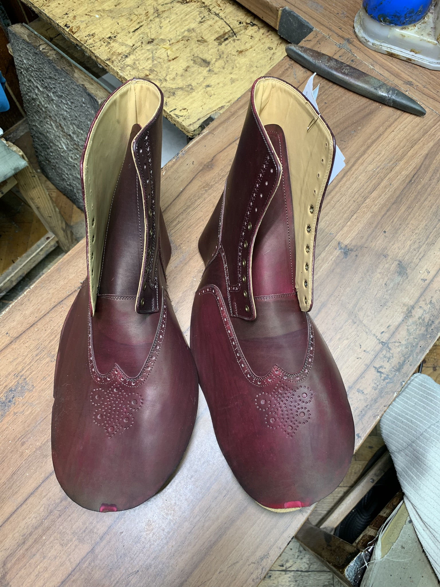 Leather-Boots-Giau-Burgundy-Gal7