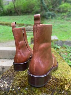 Tocanello horsehide zip boots 3
