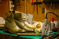 Leather-Boots-London-Green-Gal9