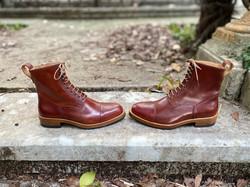 Captoe Horween shell cordovan boots col.4 17