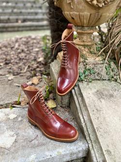 Captoe Horween shell cordovan boots col.4 14