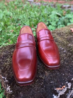 Penny Loafers Horween Shell Cordovan Gar