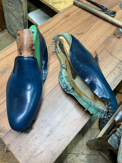 Leather-Shoes-Slippers-Shell-Navy-Gal12