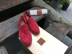 Leather-Shoes-Slippers-Suede-Red-Gal3