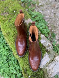 Tocanello horsehide zip boots