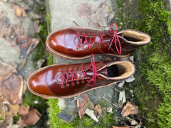Horween shell cordovan sneakers 6