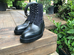 Leather-Boots-London-Calf-Suede-BLK-Gal1