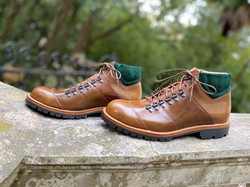Horween shell cordovan hiking boots 7