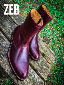 Leather-Boots-Zip-Horsehide-Burgundy-Gal5