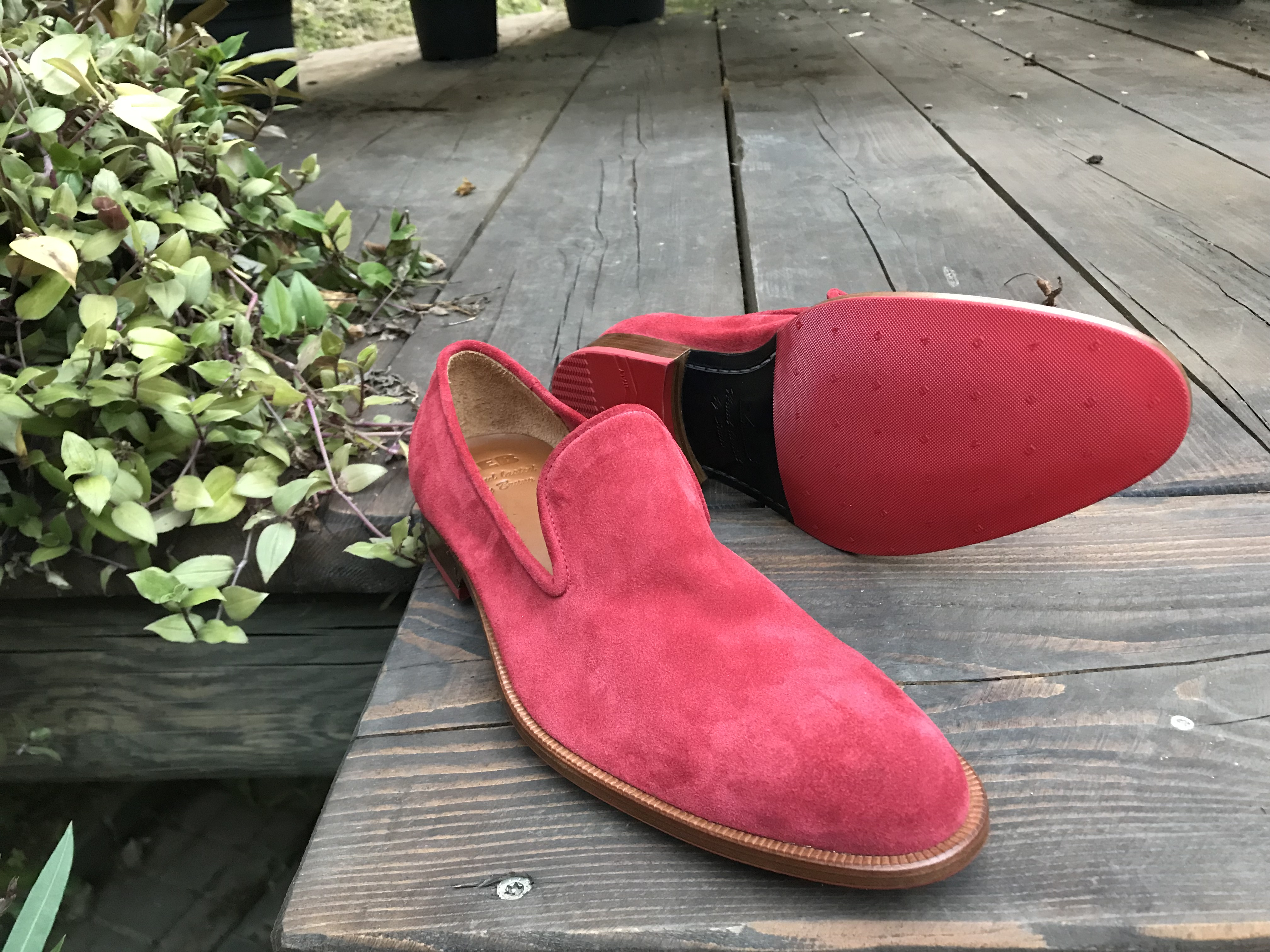 Leather-Shoes-Slippers-Suede-Red-Gal2