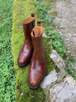 Tocanello horsehide zip boots 2