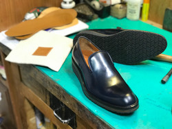 Leather-Shoes-Slippers-Shell-Navy-Gal9