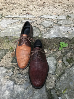 Leather-Shoes-Derby-Woven-Gal6