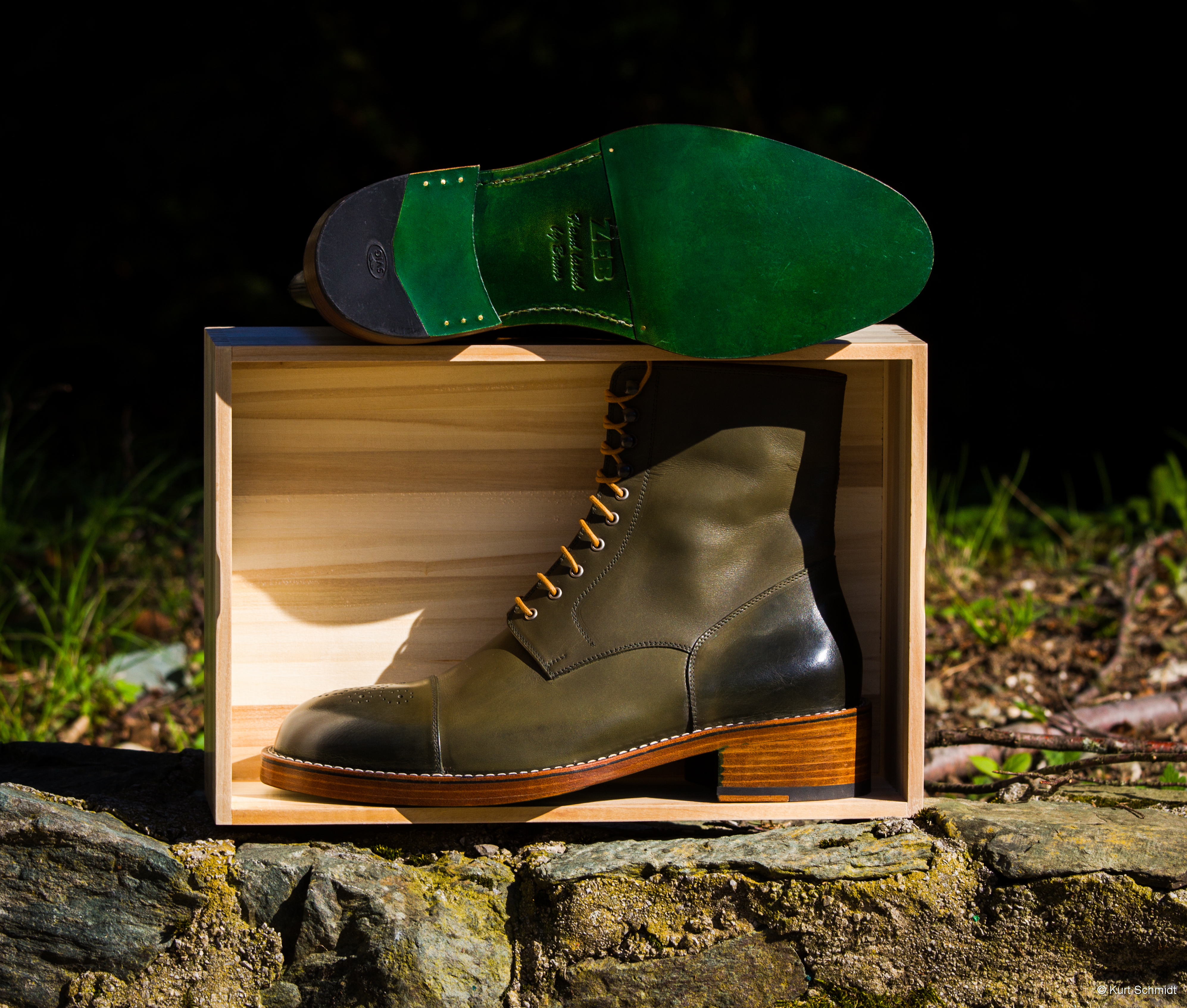 Leather-Boots-London-Green-Gal6