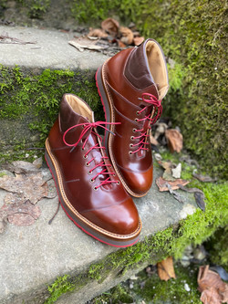 Horween shell cordovan sneakers 3