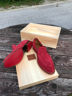 Leather-Shoes-Slippers-Suede-Red-Gal10