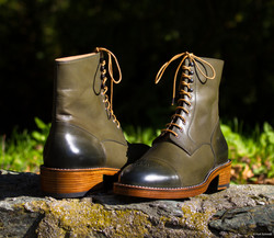 Leather-Boots-London-Green-Gal7