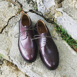 Leather-Shoes-Derby-Burgundy-Gal1