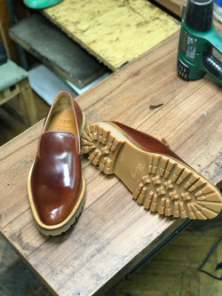 Leather-Shoes-Slippers-Shell-Brown-Gal9