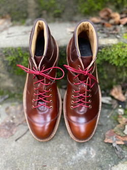 Horween shell cordovan sneakers 2