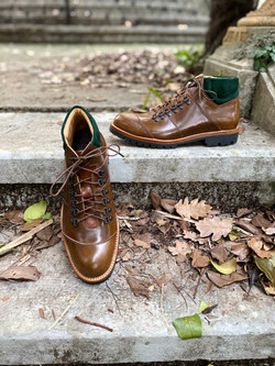 Horween shell cordovan hiking boots 5