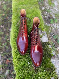 Captoe Horween shell cordovan boots col.4 7